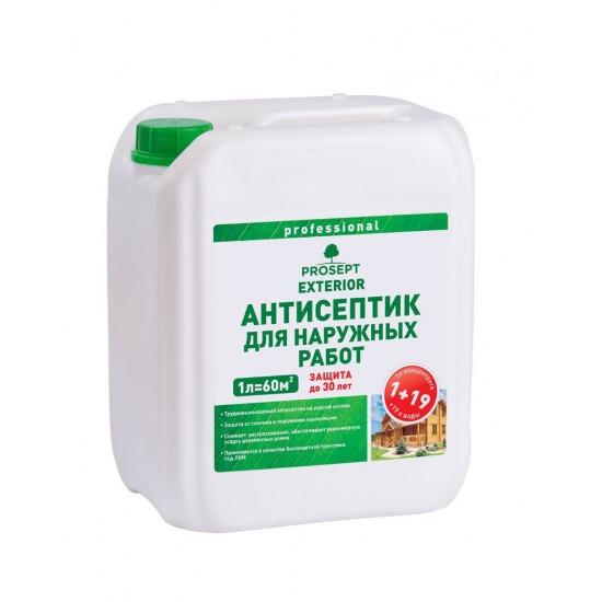 Prosept Exterior / Просепт Экстерьер - антисептик для наружных работ концентрат