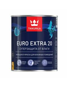 Краска Тиккурила Евро Экстра 20 / Tikkurila Euro Extra 20 (9л)
