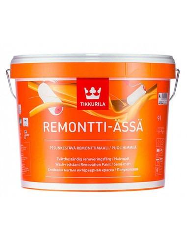 Краска Tikkurila Remontti Assa / Тиккурила Ремонти Ясса, база А, 9л.
