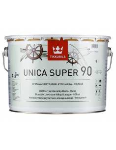Лак яхтный Tikkurila Unica Super 90 алкидно-уретановый глянцевый 9л.