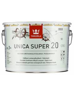 Tikkurila Unica Super 20, Яхтный лак, полуматовый, 9л.