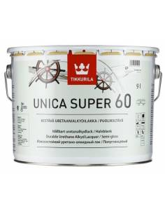 Tikkurila Unica Super 60, Яхтный лак, полуглянцевый, 9л.