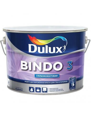Краска Dulux Bindo 3 / Дюлакс Биндо 3 5л, база BW