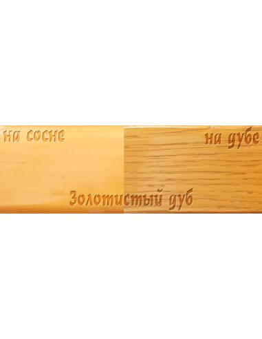 Цветной лак Petri Polystain Золотистый дуб, 3.78 л.