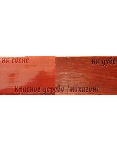 Цветной лак Petri Polystain 3.78л махагон