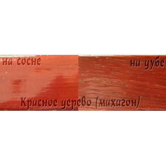 Цветной лак Petri Polystain, Красное дерево, 3.78 л.
