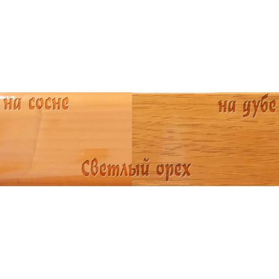 Цветной лак Petri Polystain, Светлый орех, 3.78 л.
