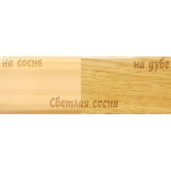 Цветной лак Petri Polystain, Светлая сосна, 3.78 л.