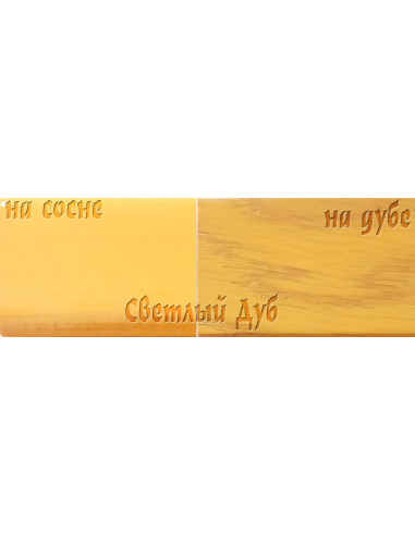 Цветной лак Petri Polystain, Светлый дуб, 3.78 л.