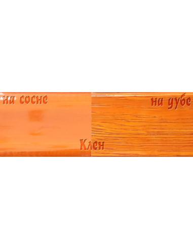 Цветной лак Петри Petri Polystain Клен (3,78 л)