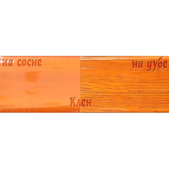 Цветной лак Petri Polystain Клен, 3.78 л.
