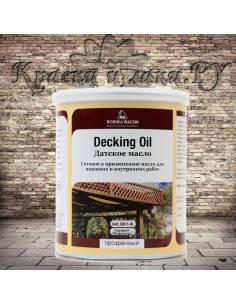 Датское масло Борма - Deckig Oil, Danish OIL, полуматовое, 5л.