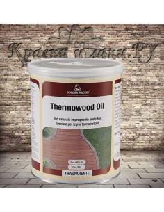 Масло для термодревесины Борма - Borma Wachs THERMOWOOD OIL, 08 Натуральный, 1л
