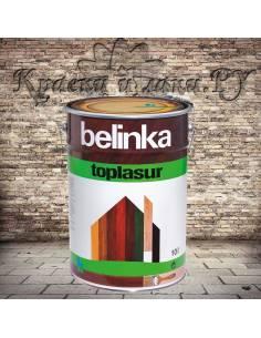 Пропитка Belinka TopLasur / Белинка ТопЛазурь, №19 зеленая, 10л