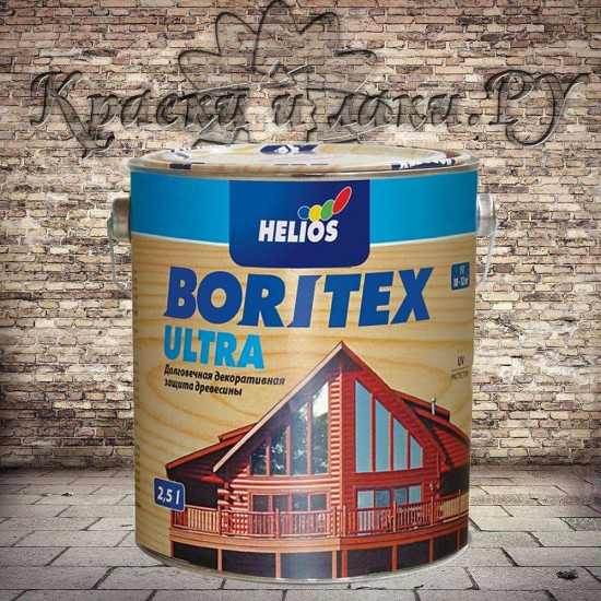 Антисептик Боритекс Ультра - Boritex Ultra, Махагон, 10л