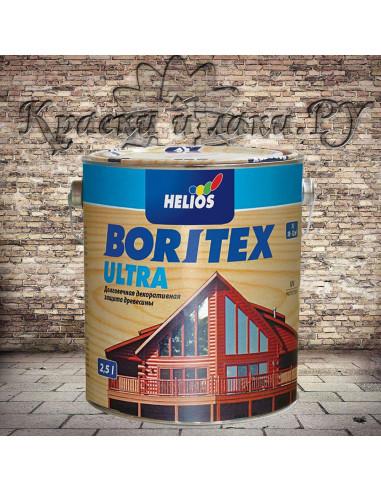 Антисептик Боритекс Ультра - Boritex Ultra, Махагон, 2,5л
