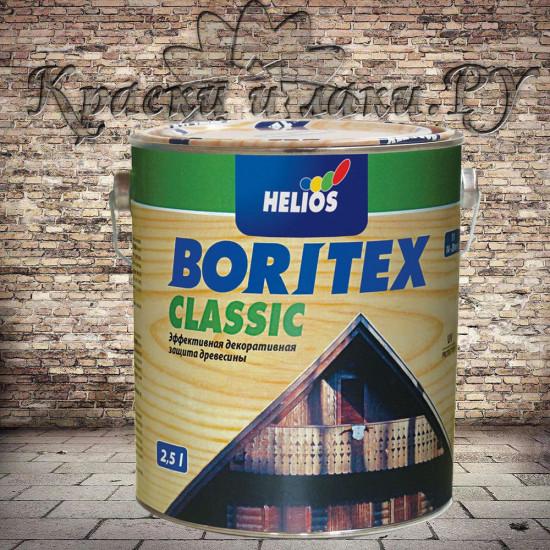 Антисептик Боритекс Классик - Boritex Classic, Махагоний, 2.5л
