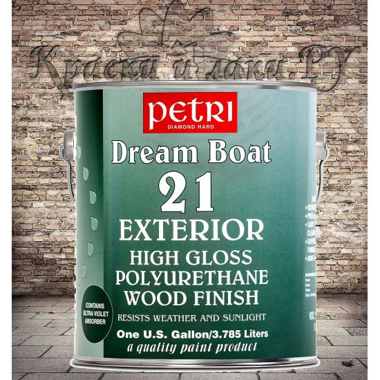 Лак Dream Boat 21 Exterior глянцевый, 3.78 л.
