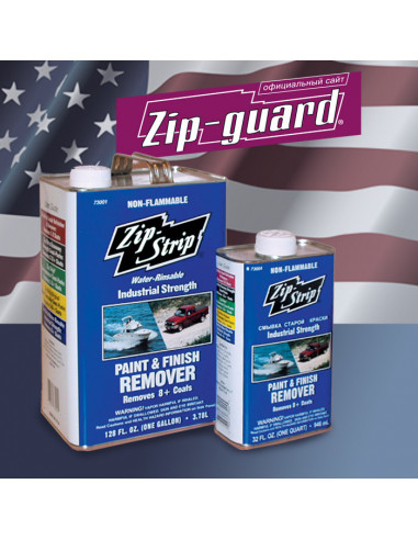 Смывка краски ZIP-STRIP Premium Paint and Finish Remover Zip-Guard (3.785 л)