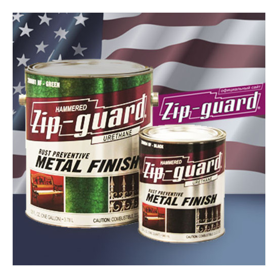 ZIP-GUARD краска по металлу Metal Finish Smooth гладкий Матовый белый (9.463 л)