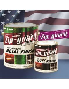 ZIP-GUARD краска по металлу Metal Finish Hammered молотковый серый (3.785 л)