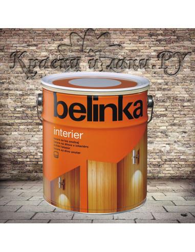 Пропитка Belinka INTERIER, №62 радужно-желтый, 10л