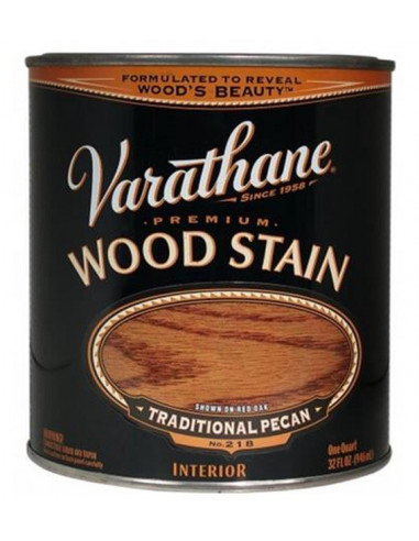 Varathane Wood Stain тонирующее масло (3.78л), Светлый орех