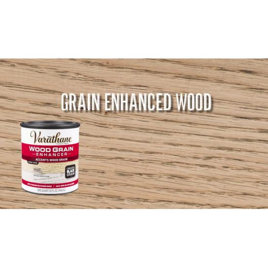 Состав для подчеркивания текстуры древесины Varathane Wood Grain Enhancer, Чёрный контраст (0.946л)