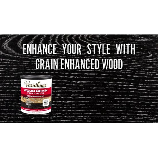 Состав для подчеркивания текстуры древесины Varathane Wood Grain Enhancer, Белый контраст (0.946л)