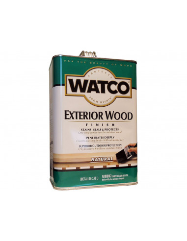 Масло для фасадов и террас WATCO Exterior Wood Finish (3.78л)