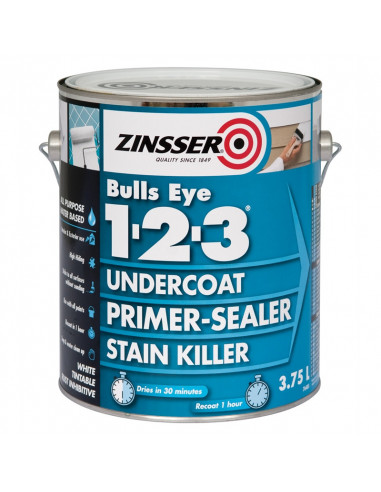 Грунт Zinsser Bulls Eye 1 2 3 Primer (3.78л)