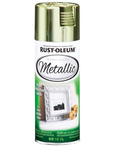 Краска с эффектом яркого металлика Specialty Metallic Spray, Латунь (0.312л)