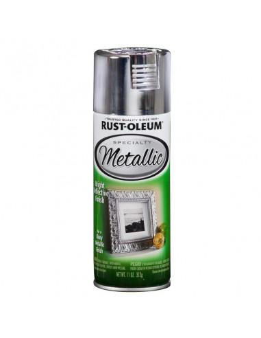 Краска с эффектом яркого металлика Specialty Metallic Spray, Серебро (0.312л)