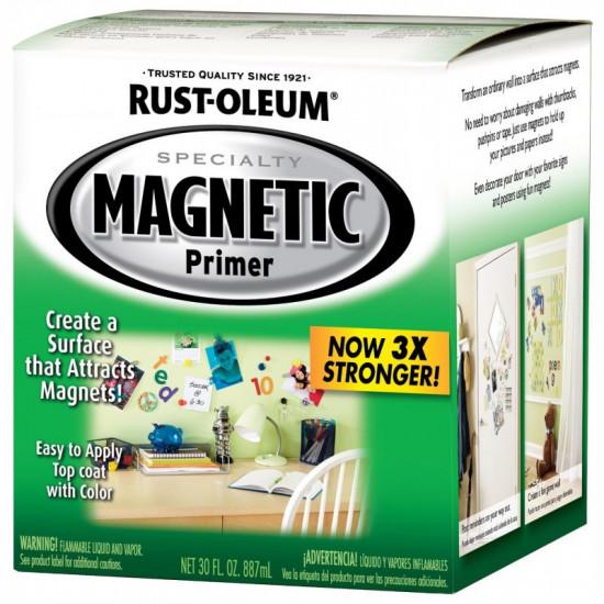 Грунт для создания магнитной поверхности Specialty Magnetic Primer (0.946л)
