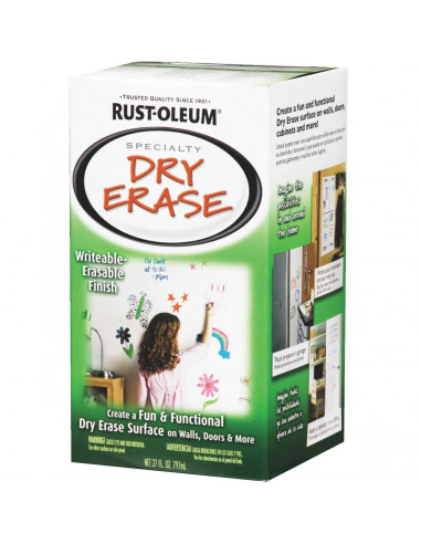 Краска с эффектом маркерной доски Specialty Dry Erase Paint (0.797л)