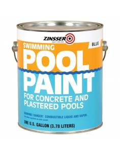 Краска для бассейна Zinccer Swimming Pool Paint, 3.78л белая