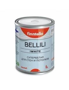Краска Finntella BELLILI супербелая 4D эффект 0,9л