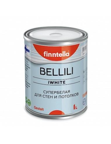 Краска Finntella BELLILI супербелая 4D эффект 2,7л