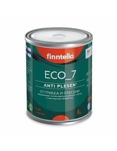 Краска Finntella ECO_7 AntiPLESEN от плесени шелковисто-матовая, База А 0,9л
