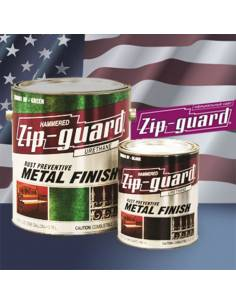 ZIP-GUARD краска по металлу Metal Finish Hammered молотковый коричневый (9.463 л)
