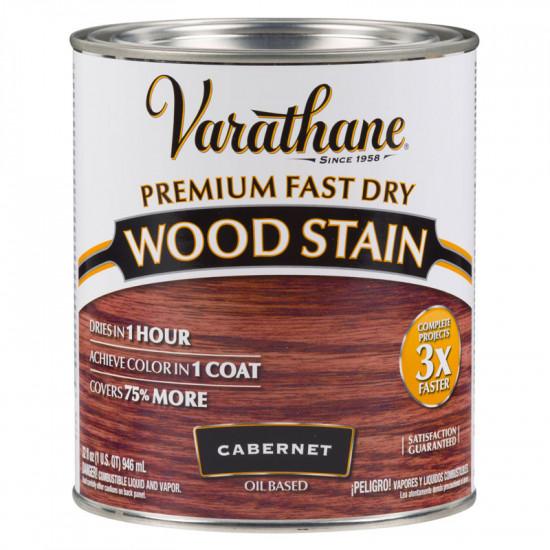 Масло для дерева Varathane Fast Dry Wood Stain (0.946) Каберне
