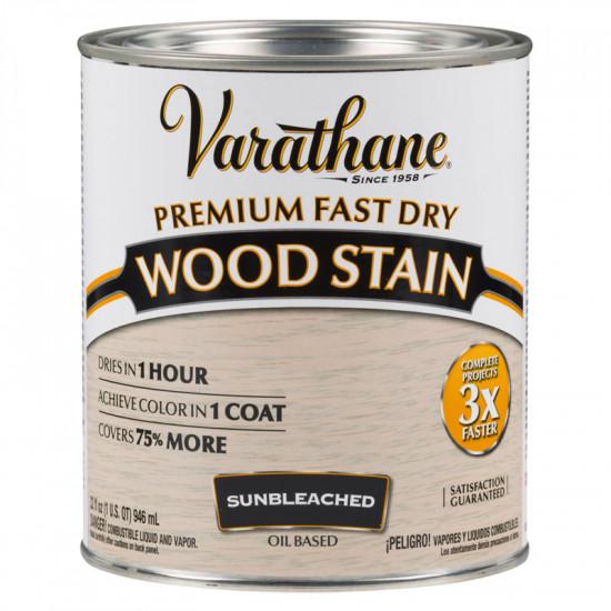 Морилка масляная Varathane Fast Dry Wood Stain (0.946 л.) Выбеленное дерево