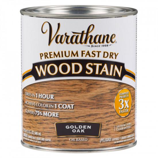 Морилка масляная Varathane Fast Dry Wood Stain (0.946) Золотой дуб