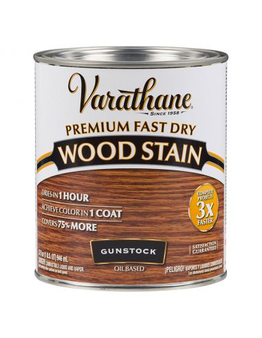 Морилка масляная Varathane Fast Dry Wood Stain (0.946) Дуб гансток