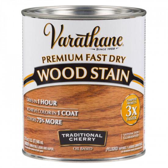 Морилка масляная Varathane Fast Dry Wood Stain (0.946) Традиционная вишня