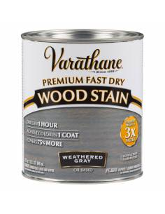 Масло для дерева Varathane Fast Dry Wood Stain (0.946) Графит