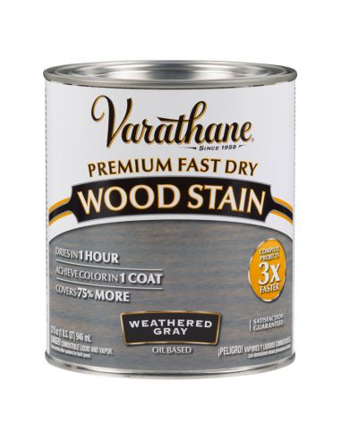 Морилка масляная Varathane Fast Dry Wood Stain (0.946) Графит