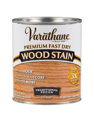 Морилка масляная Varathane Fast Dry Wood Stain (0.946) Traditional Pecan