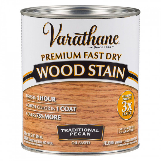 Морилка масляная Varathane Fast Dry Wood Stain (0.946) Traditional Pecan