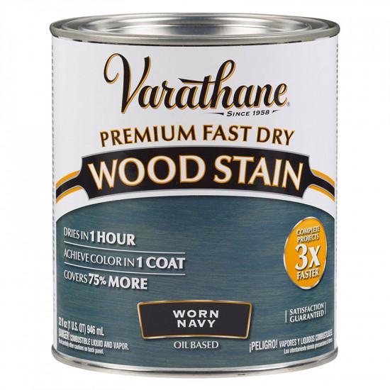Масло для дерева Varathane Fast Dry Wood Stain (0.946) Состаренный морской